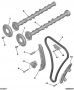 Цепь ГРМ для двигателя 2.2 Puma Пежо Боксер 3 Ситроен Джампер III