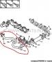 Патрубок клапана ЕГР Фиат Дукато 250 Пежо Боксер 3 Ситроен Джампер дв. 2.2 Puma