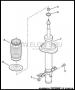 Амортизатор передний усил. 1.7-2.0 Fiat Ducato 3, Peugeot Boxer 3, Citroen Jumper 3 с 2006г