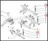 Болт-фиксатор вилки кпп Фиат Дукато 244/250 Пежо Боксер 2/3 Ситроен Джампер II/III
