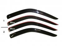 Дефлекторы боковых стёкол Фиат Дукато 250 Пежо Боксер 3 Ситроен Джампер III
