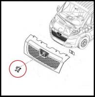 Эмблема на решётку радиатора Пежо Боксер 3