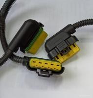 Фишка разъём мотора стеклоочистителя Фиат Дукато 250 Пежо Боксер 3 Ситроен Джампер