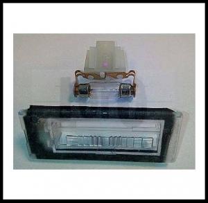 Фонарь освещения номерного знака Пежо Боксер 3 Ситроен Джампер III Фиат Дукато 250