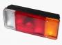 Фонарь задний правый прямоугольный (шасси) Фиат Дукато 250 Пежо Боксер 3 Ситроен Джампер III