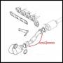 Глушитель передняя часть (с гофрой) Фиат Дукато 250 Пежо Боксер 3 Ситроен Джампер III