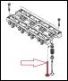 Клапан впускной двигателя 2.2 Puma Фиат Дукато 250 Пежо Боксер 3 Ситроен Джампер III