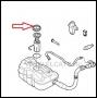 Кольцо фиксации крепления топливного насоса в баке Фиат Дукато 250 Пежо Боксер 3 Ситроен Джампер III