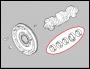 Вкладыши коренные коленвала двигателя 2.2 Puma Пежо Боксер 3 Ситроен Джампер III (комплект)