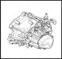 Коробка переключения передач (мкпп) 5ст Пежо Боксер 3 Ситроен Джампер III