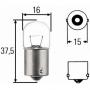 Лампа подсветки номерного знака 12V R5W (шасси) Фиат Дукато Пежо Боксер Ситроен Джампер