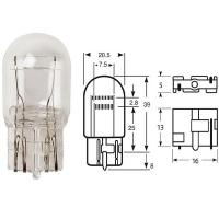 Лампа дневного ходового света W21/5W Пежо Боксер Фиат Дукато Ситроен Джампер