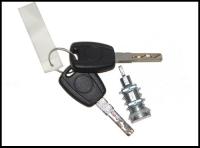 Личинка замка двери +2ключа Фиат Дукато 250 Пежо Боксер 3 Ситроен Джампер III (лев=прав=задн)