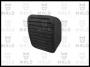 Накладка резиновая на педаль тормоза Дукато Боксер Джампер (ориг. номер: 450432, 71747697)