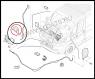 Опора (петля) держателя капота Фиат Дукато 250 Пежо Боксер 3 Ситроен Джампер III