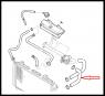 Патрубок радиатора нижний Фиат Дукато RESTYL. BZ/DS (2001-2006) 244 RUSSIA (2008-2011)