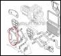 Патрубок отопителя (печки) 100/120 л.с Фиат Дукато 250 Пежо Боксер 3 Ситроен Джампер III