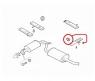 Подвес резиновый (3отв) крепления глушителя Фиат Дукато 244 Елабуга