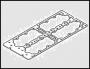 Прокладка клапанной крышки ГБЦ Фиат Дукато 2.3 Елабуга/244/250