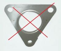 Прокладка турбины Евро 5 (треугольник) Пежо Боксер 3 Ситроен Джампер III 130л.с.(131)