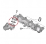 Прокладка впускного коллектора (круглая d55) Евро 4 Пежо Боксер 3 Ситроен Джампер III