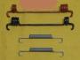 Пружины колодок тормозных задних ремкомплект (77364020) Италия/Польша