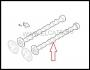 Распредвал впускной (Евро 4-5) Пежо Боксер 3 Ситроен Джампер III 2.2 Puma