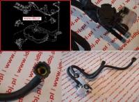 Регулятор давления топлива с трубками Пежо Боксер 3 Ситроен Джампер III