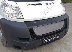 Решётка радиатора с металлической сеткой Пежо Боксер Фиат Дукато 250 Ситроен Джампер III