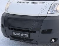 Решётка радиатора зимняя (закрытая) Пежо Боксер 3 Фиат Дукато 250 Ситроен Джампер III 06-14 г