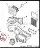 Резистор электромотора вентилятора печки Фиат Дукато 250 Пежо Боксер 3 Ситроен Джампер с 2006г. 6450XR 77364061 55702407