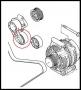 Ролик натяжителя ремня генератора 2.2 Puma Фиат Дукато 250 Пежо Боксер 3 Ситроен Джампер III с кондиционером