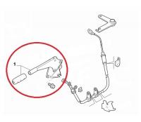 Рычаг управления ручным тормозом Пежо Боксер 3 Ситроен Джампер 3 Фиат Дукато 250