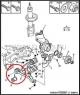 Сайлентблок переднего рычага передний Фиат Дукато 244 Елабуга Пежо Боксер 2 Ситроен Джампер II, (резинка без металлической втулки) 5233933