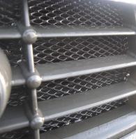Сетка алюминиевая 1000х250 чёрная