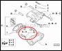 Скоба-фиксатор Q20 32мм передних тормозных колодок Пежо Боксер 3 Фиат Дукато 250 Ситроен Джампер III