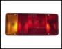 Стекло фонаря заднего левого (прямоуг) шасси Фиат Дукато 250 Пежо Боксер 3 Ситроен Джампер III