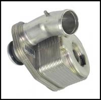 Теплообменник масляный Фиат Дукато 2.3 (маслоохладитель)