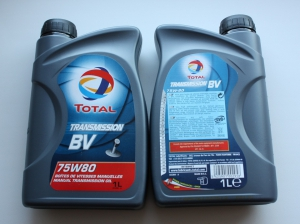 Масло Total 75w80 1л