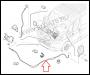 Трос открывания капота Фиат Дукато 250 Пежо Боксер 3 Ситроен Джампер III