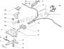 Трос ручника задний (1400мм) Пежо Боксер 3 Ситроен Джампер III Фиат Дукато 250