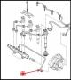 Трубка топливной системы (насос - топливная рампа) Пежо Боксер 3 Ситроен Джампер III Фиат Дукато 250 дв.2.2 Puma