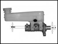 Тормозной цилиндр главный Q16/Q20 +ESP Пежо Боксер 3 Фиат Дукато 250 Ситроен Джампер III
