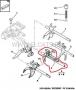 Вилка выбора передач КПП Пежо Боксер 3, Фиат Дукато 250, коробка 6-ступка