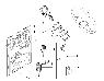 Замок зажигания в сборе с личинкой и ключами Пежо Боксер 3 Ситроен Джампер III Фиат Дукато 250