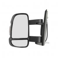 Зеркало левое (средняя длина) Пежо Боксер 3 Ситроен Джампер III Фиат Дукато 250