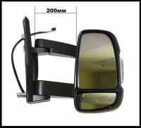 Зеркало правое (длинное) Фиат Дукато 250, Пежо Боксер 3, Ситроен Джампер 735620708/815427/8154KR